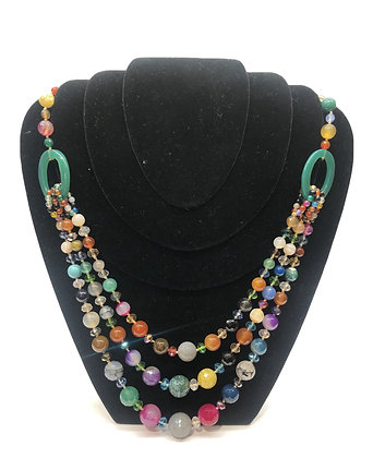 Colorfull Stones Necklace