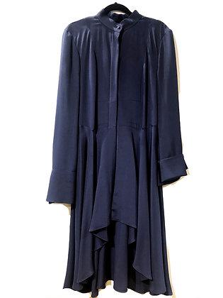 Alexander McQueen Blue Dress