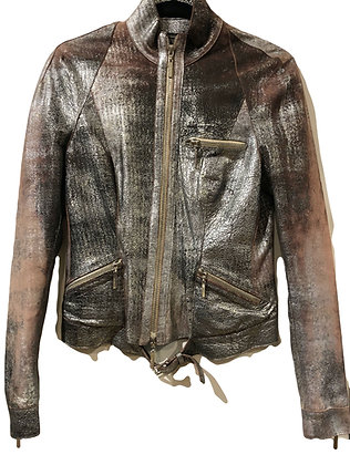 Roberto Cavalli Biker Leather Jacket
