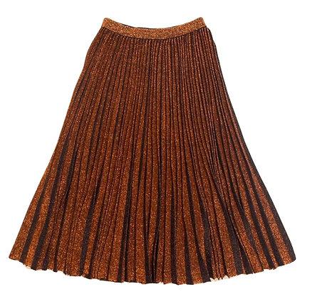 GIG Lurex Pleated Skirt