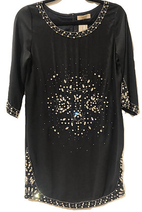 Ba & Sh Black Embellished Dress