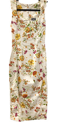 Dolce Gabbana Floral Dress
