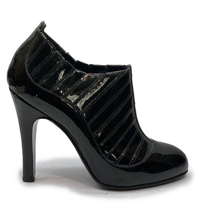 Chanel Patent Booties