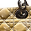 Thumbnail: Christian Dior Cannage Quilted Patent Leather Large Shopping Tote