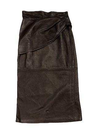 Gianni Versace Vintage Leather Skirt
