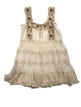Antica Sartoria Cotton Lace Dress