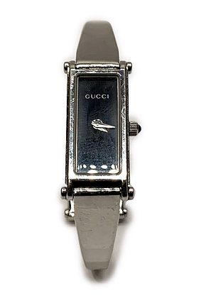 Gucci 1500 L Silver Dial & Silver Plated Band Vintage Watch