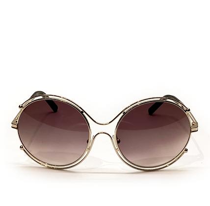 Chloe Isidora 59 mm Round Sunglasses