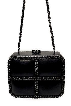 Chanel Chain Cross Mini Clutch-Bag