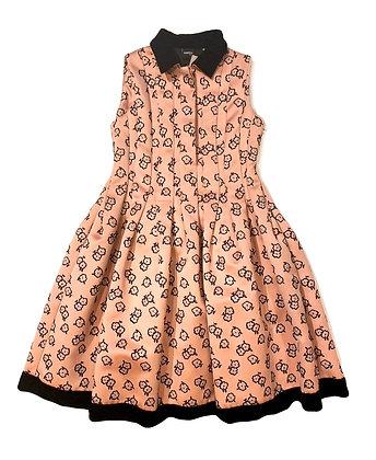 Aspesi Pleated Floral Dress