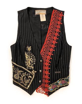 Galliano Embroidered Vest