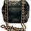Thumbnail: Chanel Black Quilted Lambskin Vintage Tassel Bag
