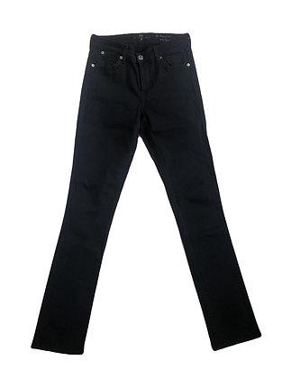 7 Seven Black Denim Jeans