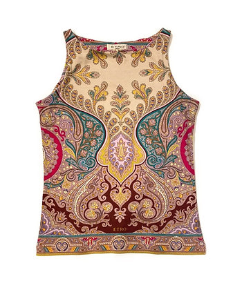 Etro Multicolor Sleeveless Top