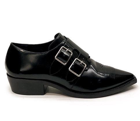 All Saints Silva Monk Shoes