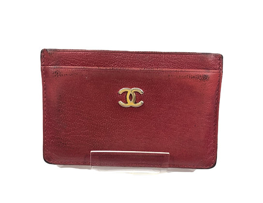 Chanel Leather Card Holder