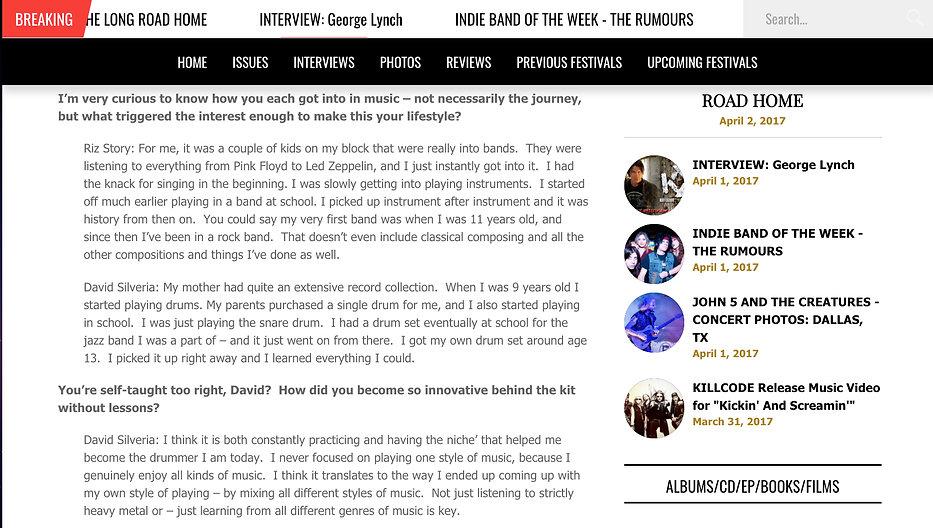 Riz Story, David Silveria, Anyone, Rock Revolt