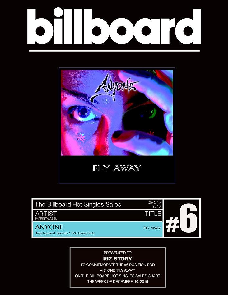 Fly Away - #6 Billboard Hot Singles