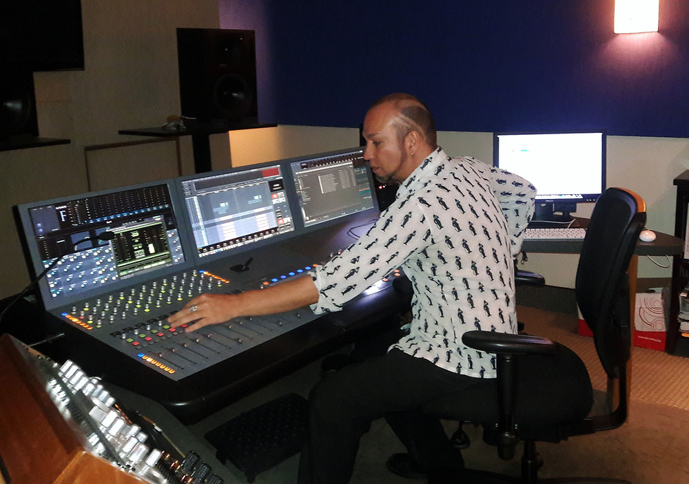 """Riz Story at work on 'On the ending earth..."""""""
