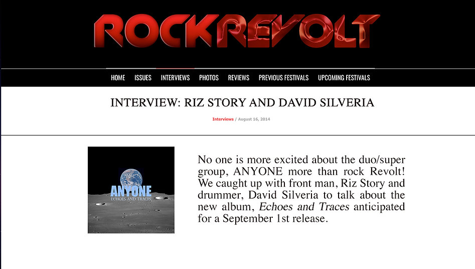 ANYONE - Riz Story - Rock Revolt