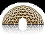דום - כיפה גאודזית - וויזדום לוגו