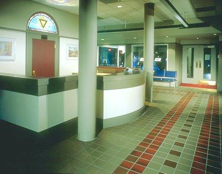 Summit YMCA Reception Area