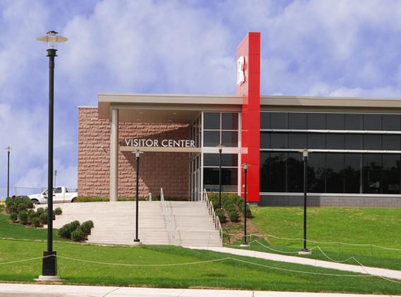 Visitor Welcome Center Entrance