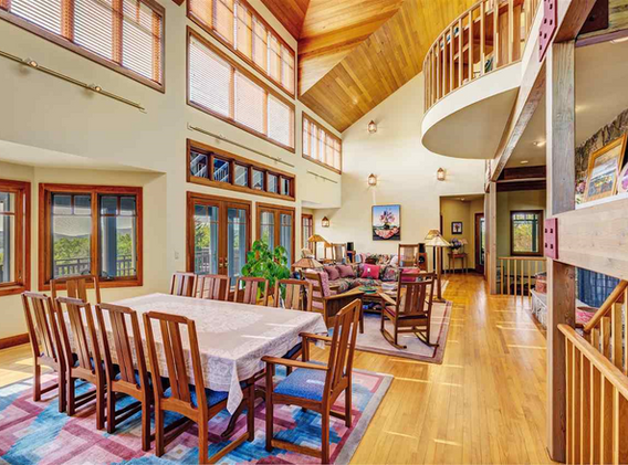 Sunapee Residence, Dining Area