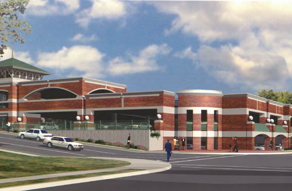 Summit Parking Garage Rendering