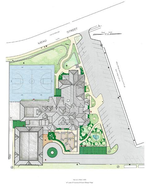 Baird Community Center, Site Plan