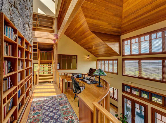 Sunapee Residence, Library/Office
