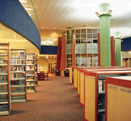 Rahway Public Library Stacks