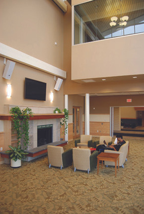 Livingston Student Center, Lounge