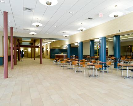 Livingston Student Center, Lobby