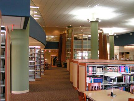 Rahway Public Library Interior