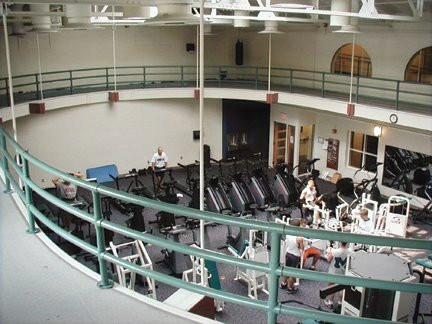 Summit YMCA Fitness Equipment Area