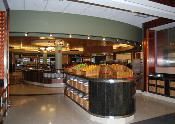 Livingston Dining Commons Servery Entrance