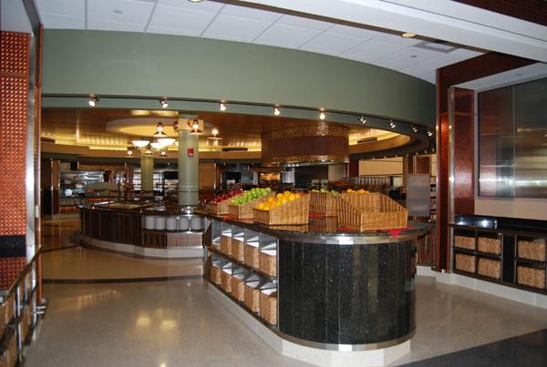 Livingston Dining Commons Servery Entrance