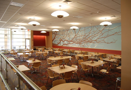 Livingston Dining Commons Lower Dining