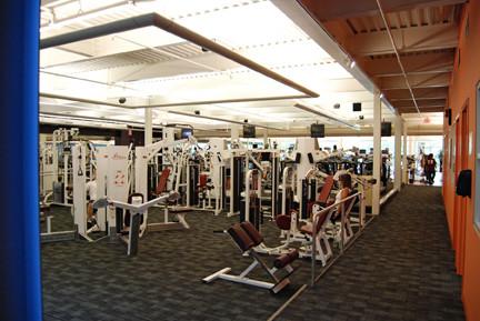 Somerset Hills YMCA, Free Weights Area