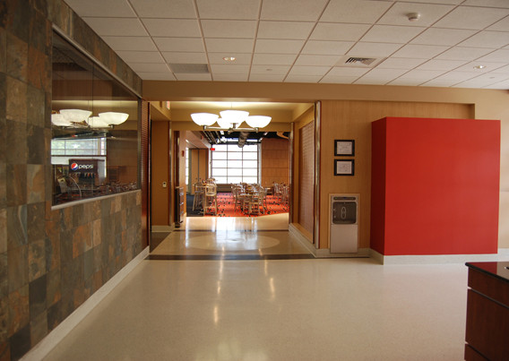 Livingston Dining Commons Student Lobby