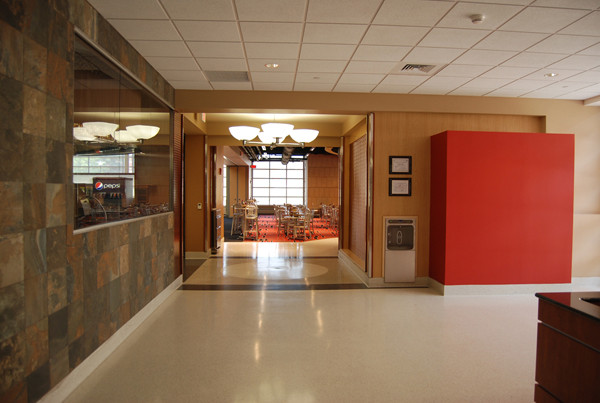 Livingston Dining Commons Student Lobby