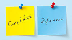 Understanding The Difference Between Loan Consolidation And Refinancing.