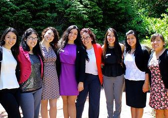 Smart Latina students successful women