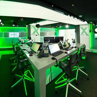 Radio Studio Desk & Chairs