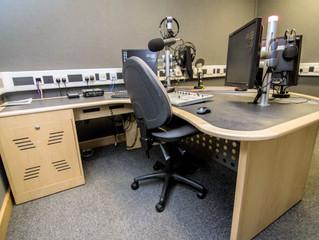 Rolling News & Radio Studio Desks