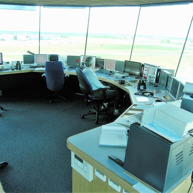 Air Traffic Control Securiy Console