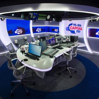 Global Capital Radio Studio