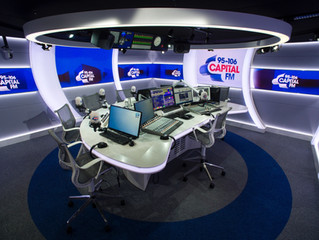 Broadcast Studio Desks Put You in Control