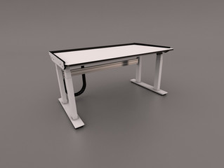 Furniture Feature: Height Adjustable LabMec Desk